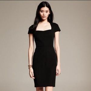 Banana Republic Sloan Black Dress